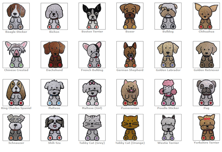 Love Your Breed™ - Rhinestone Stickers