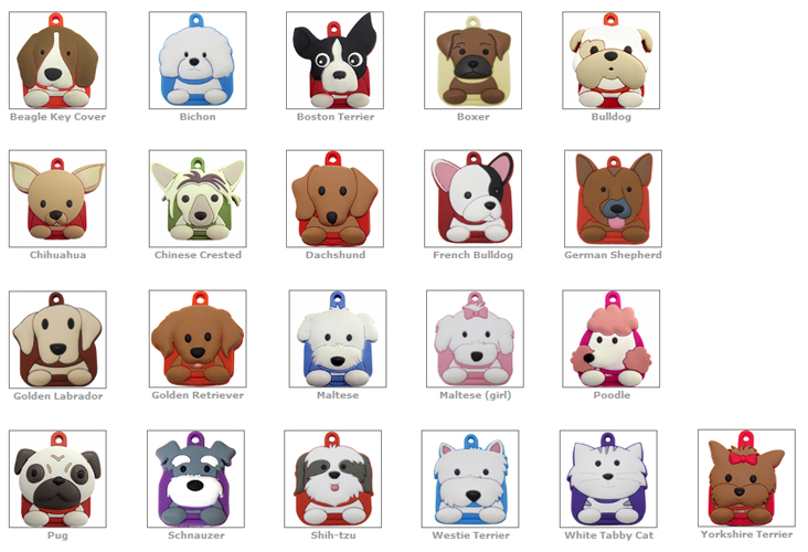 Love Your Breed™ - Key Covers