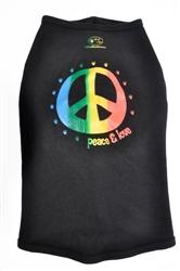 Peace & Love - Rainbow Tank