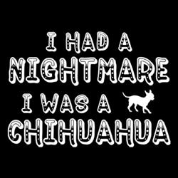 I Had Nightmare I Was A Chihuahua Hoodie