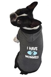 I Have 2 Mommies Hoodie