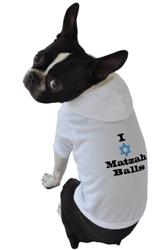 I Love Matzah Balls Hoodie