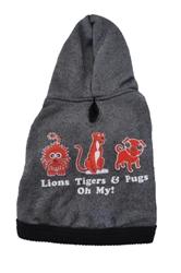 Lions & Tigers & Pugs Oh My! Hoodie