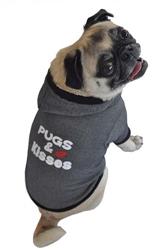 Pugs n Kisses Hoodie