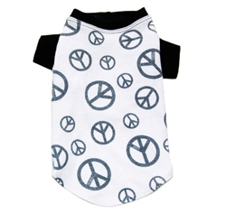 Peace  Thermal Tee by Ruff Ruff Couture®