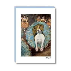 Dogas Beagle Note Card