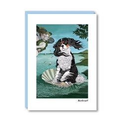 Barkicelli Cavalier King Charles Note Card