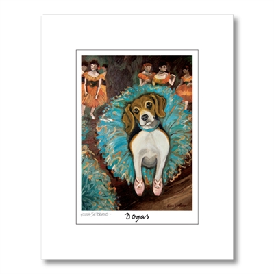 Dogas Matted Print Collection