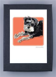 Schnoodle - Grrreen Boxed Note Cards