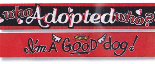 Adopted Who & Good Dog Collection
