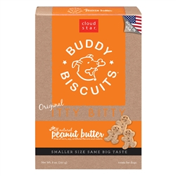 Itty Bitty Buddy Biscuits - Peanut Butter Flavor, 8oz. box