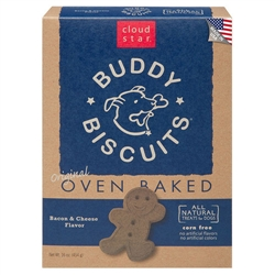 Buddy Biscuits Baked Treats, Bacon & Cheese