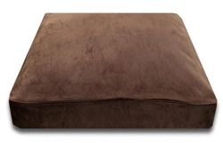 Chocolate Rectangle Bed Cover Only