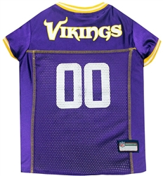NFL Minnesota Vikings Dog Jerseys