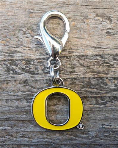 University of Oregon Ducks Dog Collar Charm