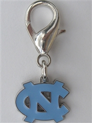 University of North Carolina Tarheels Dog Collar Charm