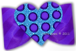 Love Games In Turquoise And Purple