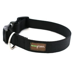 Black Webbing Collars & Leashes