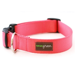 Strawberry Webbing Collars & Leashes