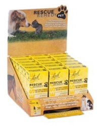 Nelson Bach Rescue Remedy Pet, 18 piece Display (12x 10mL, 6x 20mL)