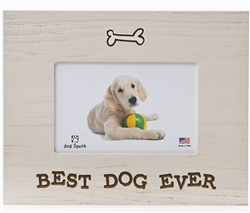 "Best Dog Ever 7.5"" x 9.5"" Picture Frame"
