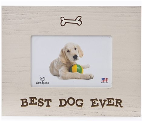 """Best Dog Ever 7.5"""" x 9.5"""" Picture Frame"""