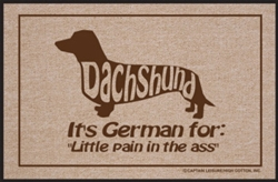 Dachshund It's German For... - Doormat