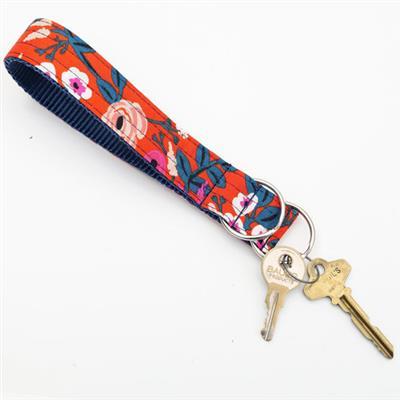 'Scarlet' Rifle Paper Co Wristlet Key Fob