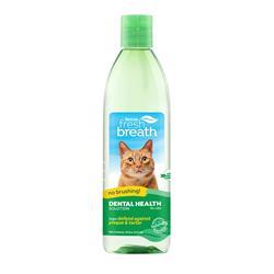 Fresh Breath Dental Health Solution for Cats, 16oz Bottle