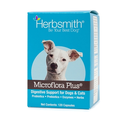 Microflora Plus - Digestive Aid for Dogs & Cats