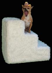 Pet Flys USA- Pet Steps- Shaggy Ivory