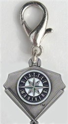 MLB™ Licensed Seattle Mariners Pennant Collar Charm