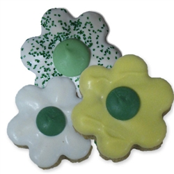 St. Patrick's Day Flower Treats