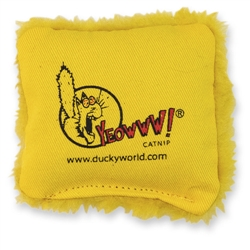 Yeowww! Catnip Pillows-Yellow