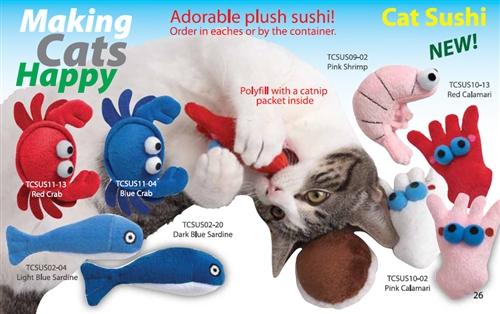 Catnip Sushi Toys