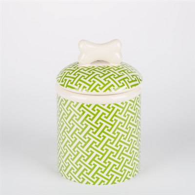 Green Trellis Bowls & Treat Jars Collection