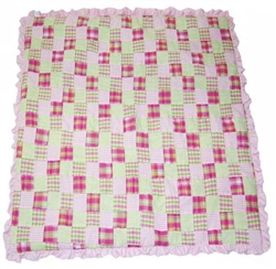 Picnic Blankee (Blanket) in Pink or Blue by Ruff Ruff Couture®