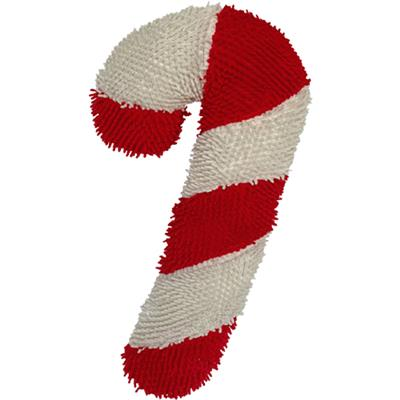 "10"" CHR TWISTED  Candy Cane"