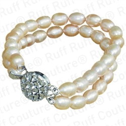 Fresh Water Natural Pearls Necklace by Ruff Ruff Couture®