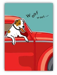 Birthday: Dog in Car