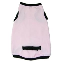 Coco Bow Tee - Light Pink