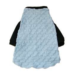 Roppongi Star T-Shirt - Lt Blue, Black Trim
