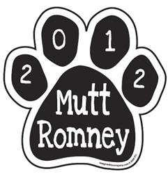 Mutt Romney Paw Magnets