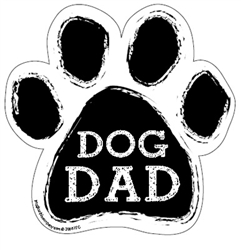 Dog Dad Paw Magnets