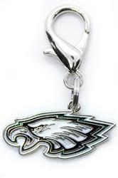 Philadelphia Eagles Team Logo Dog Collar Charm