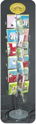 48 Pack greeting Card Floor DISPLAY ONLY + SHIPPING