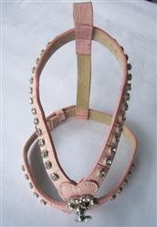 Leather Rhinestone Harness