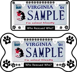 License Plate Covers (2/Set)