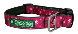 "Cycle Dog 1""W Plastic Quick Release Collars"