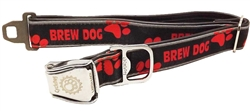 "Cycle Dog 1""W Latch-Lock Collars"